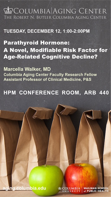 Marcella Walker Seminar Dec. 12
