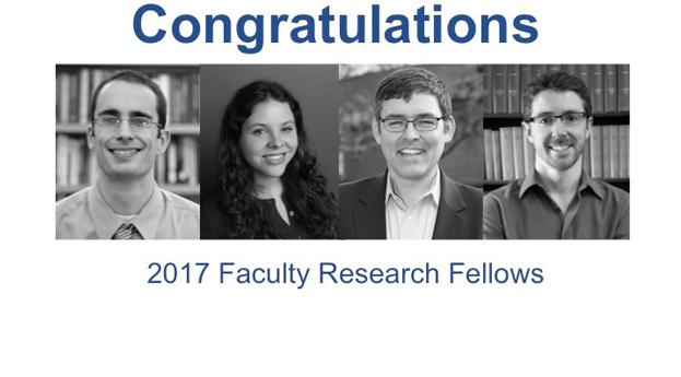 2017 Faculty Research Fellows